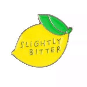 3 for $13 Bitter Lemon Enamel Pin